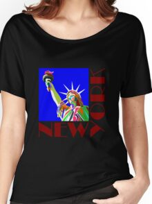 New York Liberty Women's Relaxed Fit T-Shirt