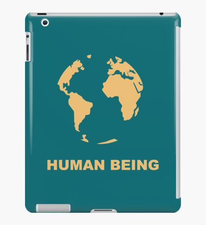 Human Being iPad Case/Skin