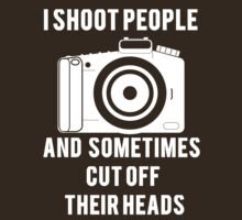 I Shoot People Funny Photographer Photography by mralan
