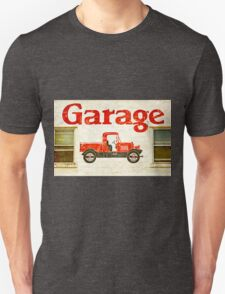 Old Garage Unisex T-Shirt