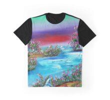 Lake Side Graphic T-Shirt