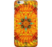 Citrus Cinnamon Mandala iPhone Case/Skin