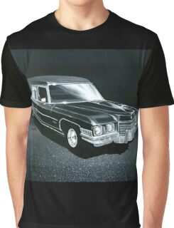 1971 Cadillac Hearse Graphic T-Shirt
