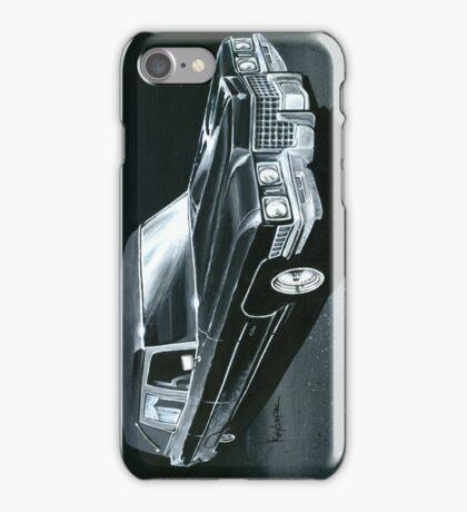 1971 Cadillac Hearse iPhone Case/Skin