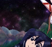 Stargazing In Aincrad Sticker