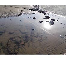 Beach Rock Pool Print Photographic Print