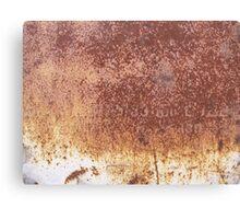 Rusty surface Canvas Print