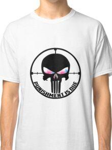 Punishment Is Due Smoke Classic T-Shirt