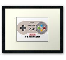The Missing Link Framed Print