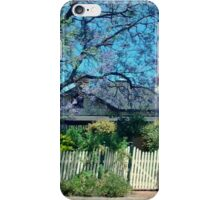 A cottage in the Country iPhone Case/Skin