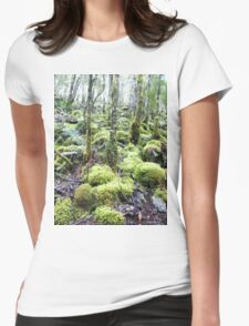 How Green are the Hills Womens Fitted T-Shirt