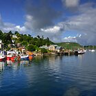 Oban Fishing Boats  by Rob Hawkins
