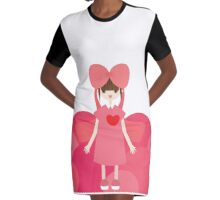 Gift Graphic T-Shirt Dress