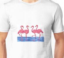 Pink Flamingos Unisex T-Shirt