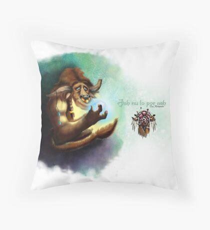 Tauren Throw Pillow