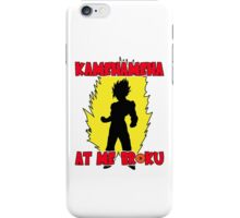 KAMEHAMEHA AT ME BROKU iPhone Case/Skin