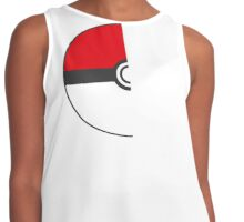 1/2 Pokeball Contrast Tank