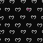 Heart chalk <3 by amadreamart