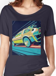 DeLorean- Back to the Future Women's Relaxed Fit T-Shirt