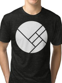 Herobust White Tri-blend T-Shirt