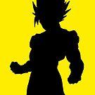 Super Saiyan Goku by Levantar