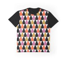Drops pattern Graphic T-Shirt