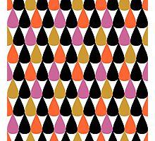 Drops pattern Photographic Print