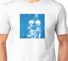 Fly Me To The Moon Blue Love Unisex T-Shirt