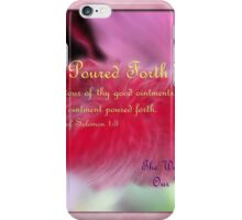 Ointment Poured Forth iPhone Case/Skin