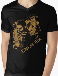Deus ex 2 Mens V-Neck T-Shirt