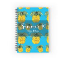 Summer 16' ft. Orginal Pineapple Spiral Notebook