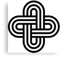 Solomon knot Canvas Print