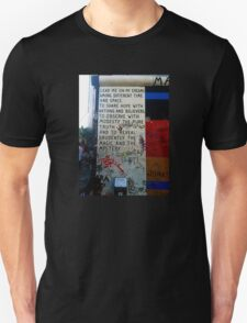 Berlin Wall - Magic & Mystery Unisex T-Shirt