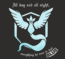 Team Mystic- I'm Blue, Da Ba Dee by o0syokitty0o
