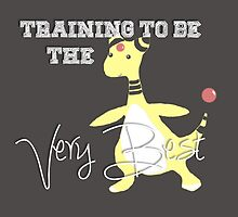 Training to be THE best- Ampharos by o0syokitty0o