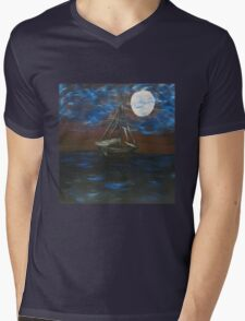 Dark Water Mens V-Neck T-Shirt