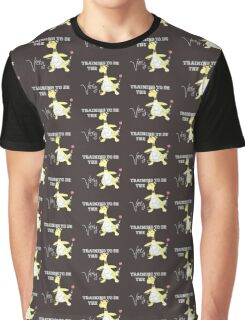 Training to be THE best- Ampharos Graphic T-Shirt