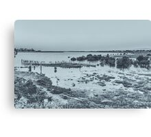 Old Barge Canvas Print