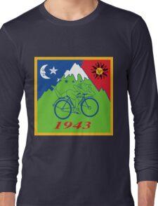 Hofmann's Bike Ride T-shirt Print Long Sleeve T-Shirt