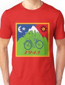 Hofmann's Bike Ride T-shirt Print Unisex T-Shirt