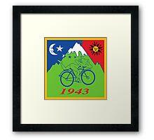 Hofmann's Bike Ride Framed Print