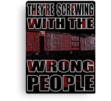 The Wrong People IV Canvas Print