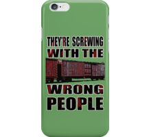 The Wrong People IV iPhone Case/Skin