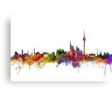 Berlins skyline Canvas Print