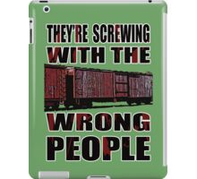 The Wrong People IV iPad Case/Skin
