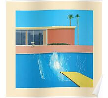 David Hockney A Bigger Splash Poster