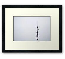 Gone Fishing Framed Print