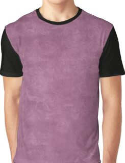 Grape Nectar Oil Pastel Color Accent Graphic T-Shirt