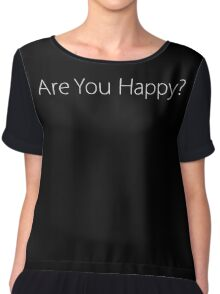 Bo Burnham - Are You Happy? Chiffon Top