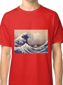 The Great Wave off Kanagawa - Katsushika Hokusai Classic T-Shirt